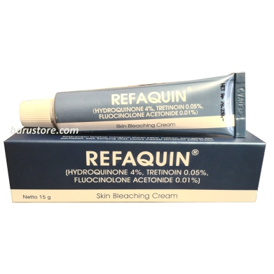 Refaquin Cream hydroquinone tretinoin fluocinolone acetonide